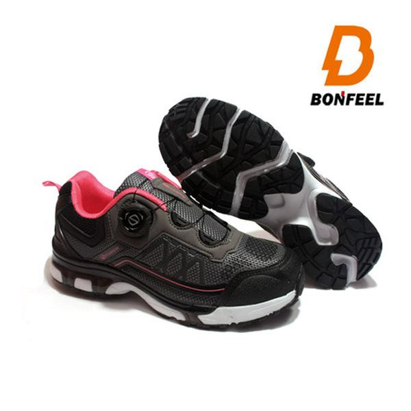 본필 여성 등산화 트레킹화 BFM-3809 그레이핑크 신발 여성등산화 여성용트레킹화 경등산슈즈 여성워킹화 가벼운등산화 경등산화 중등산화