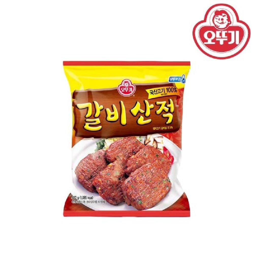 오뚜기 갈비 산적 400g 떡갈비 불맛산적 부드러운산적 제사음식 맛있는산적
