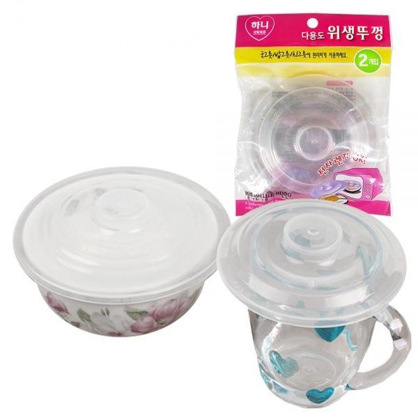 몽동닷컴 하니 전자렌지덮개 위생뚜껑 2종 전자랜지 위생덮개 덮게 랜지덮게 주방용품