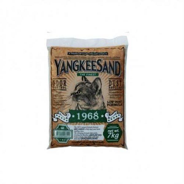 고양이모래 양키샌드 1968 허브 7kg 고양이모래 고양이화장실 고양이스쿱 고양이용품 고양이배변용품