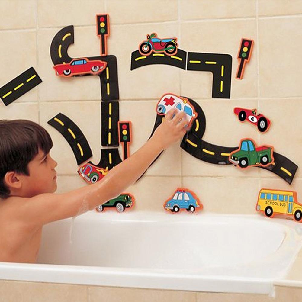 장난감 유아 어린이 목욕 놀이 트래픽펀 22P 아이 완구 어린이집 유아원 초등학교 장난감