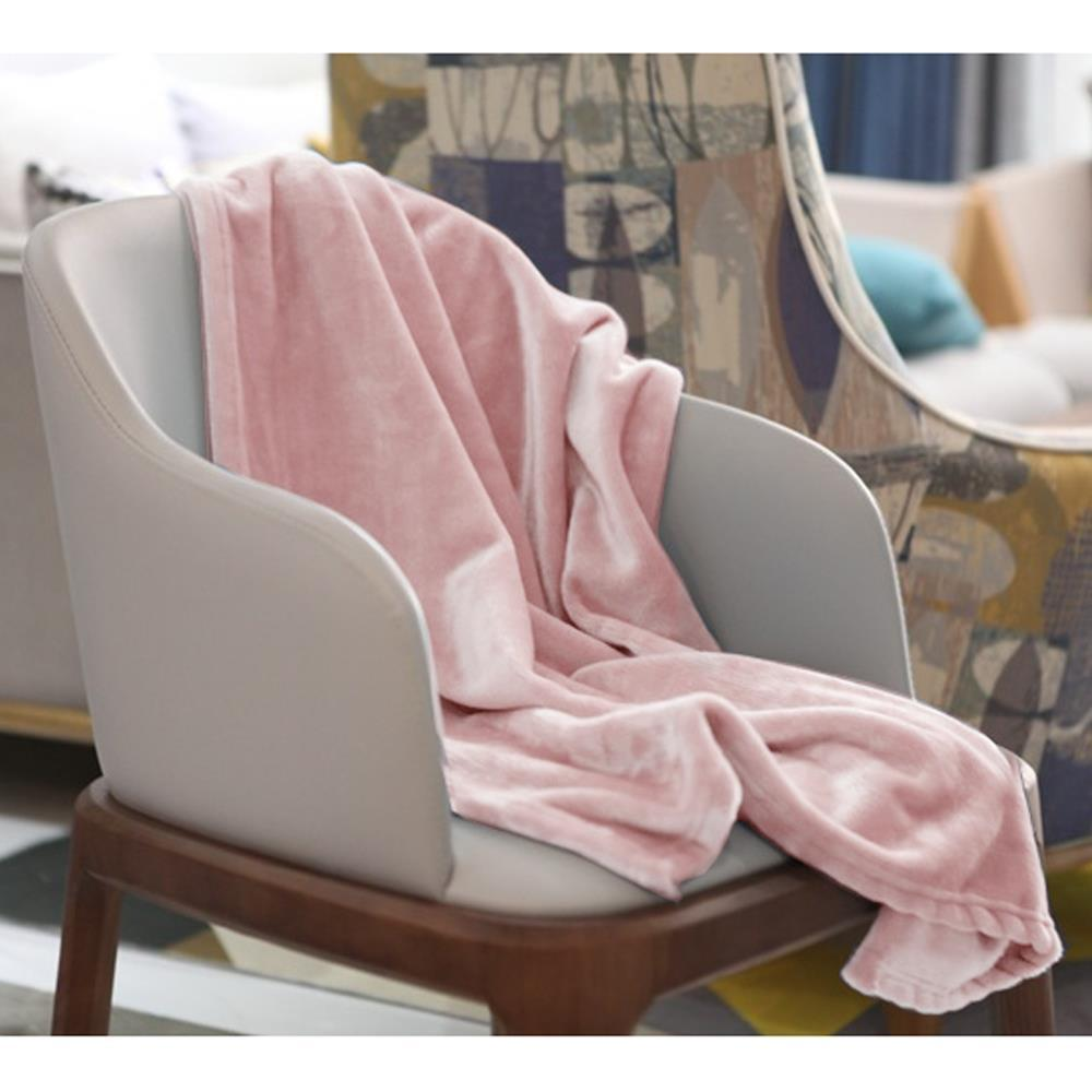 핑크 담요 소프트 50x70cm 극세사 판촉용품 캠핑담요 방한용품 담요 겨울무릎담요 판촉용품 극세사담요