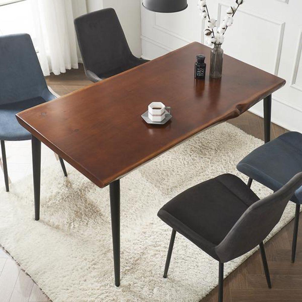심플라인 통 원목 클래식 테이블 1400 테이블 다용도상 거실테이블 티이블 미니테이블