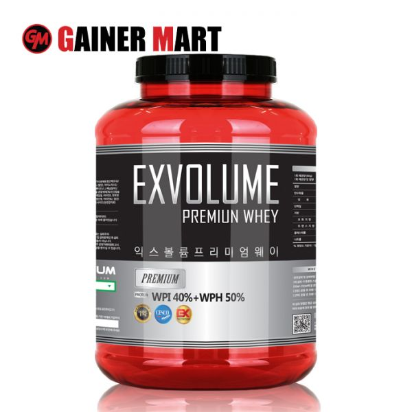 [게이너마트] 익스볼륨 프리미엄 웨이 2.27KG 보충제 게이너마트 단백질 쉐이크 운동
