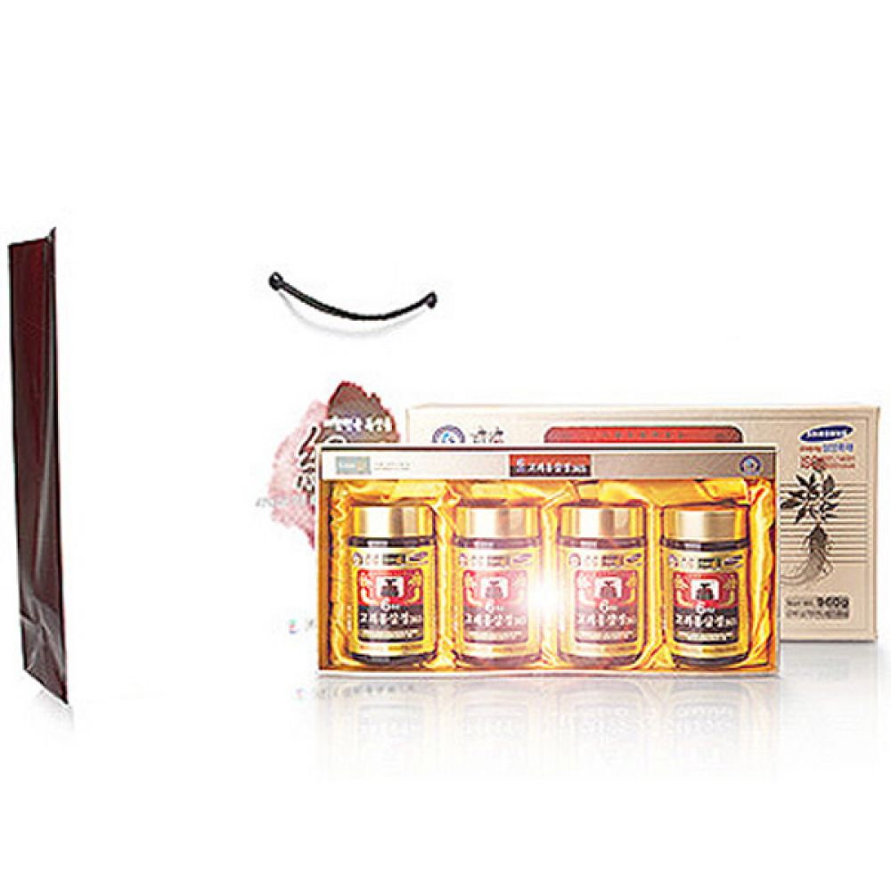6년근 고려 홍삼정365(240gx4병) 홍삼농축액 영지버섯 칡 사철쑥 익모초 홍삼 인삼 진액 건강 식품