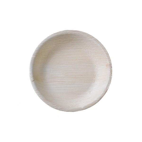 본플라 천연야자나무 18cm 일회용 샐러드 접시 (6) 주방소품 일회용접시 피크닉 포장용기 집들이