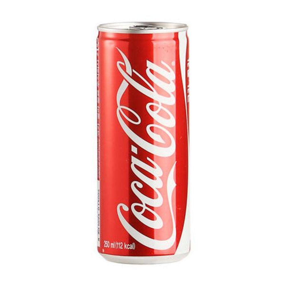 (탄산음료) 코카콜라 250ml x 30캔 믿을 수 있는 정품 정량 음료 음료수 음료수도매 콜라 캔콜라