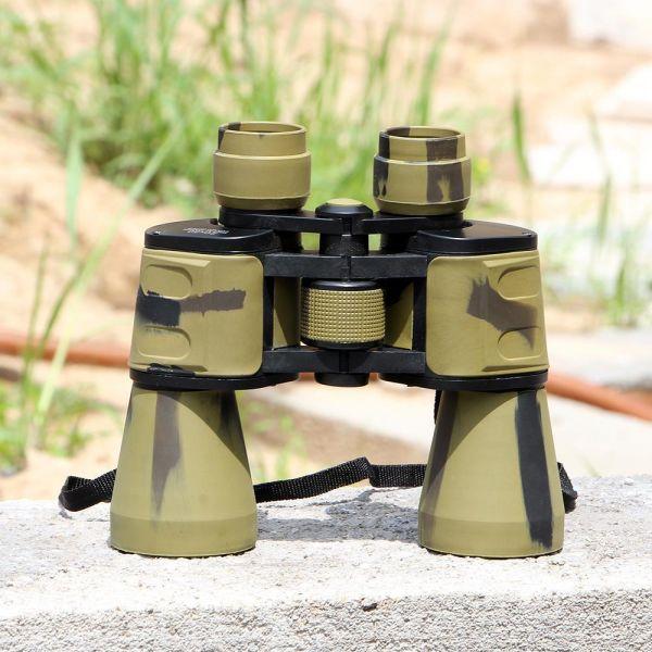 20×50 국방 고배율 쌍안경 캠핑망원경 낚시망원경