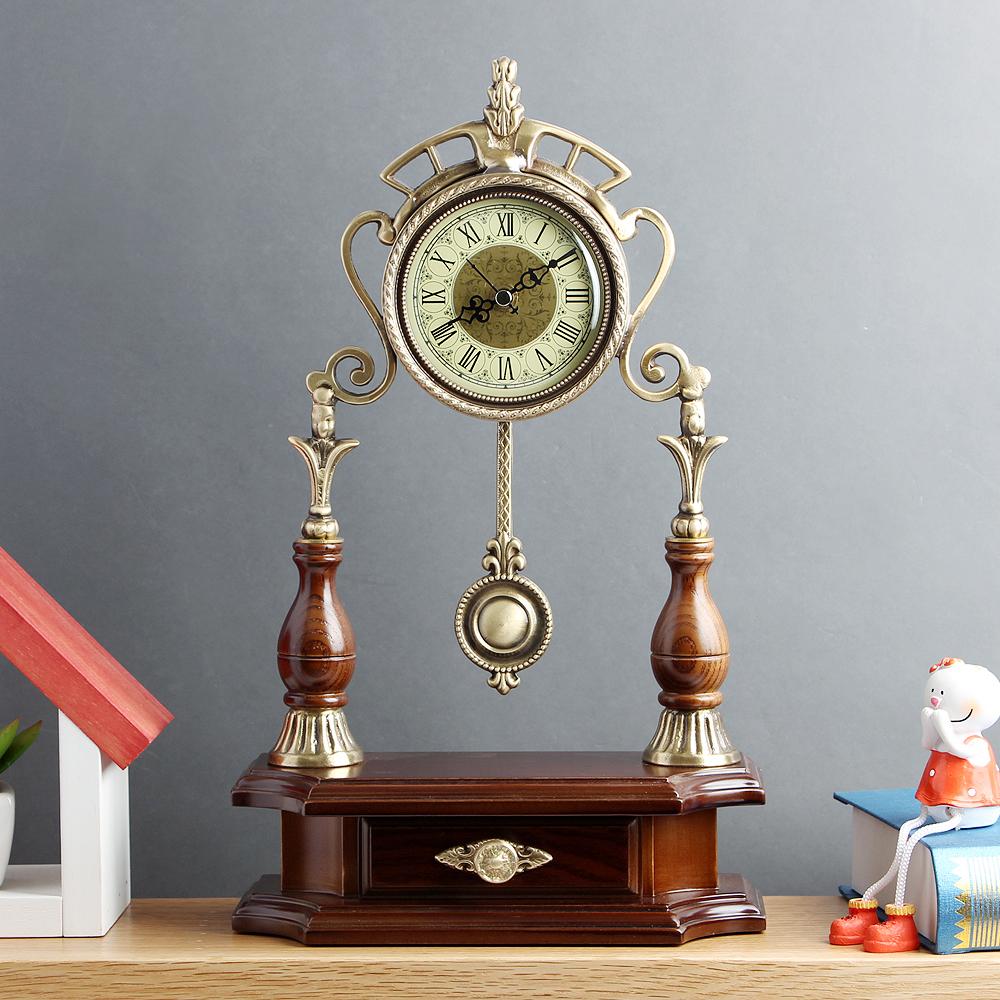 아트피플-A245 청동 오리엔탈 탁상 추시계 시계 탁상시계 엔틱시계 앤틱시계 스탠드시계