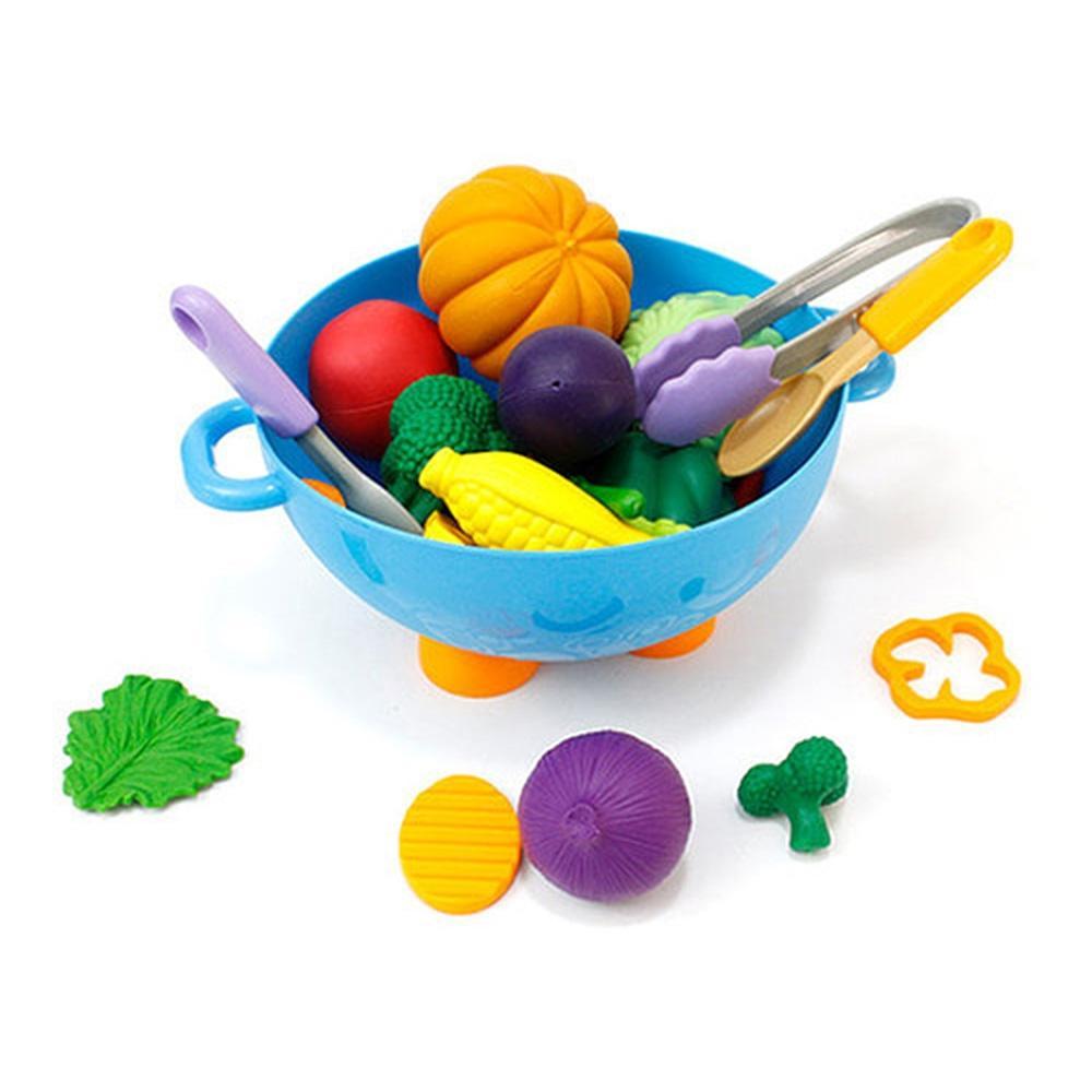 선물 아이 유아 놀이 완구 말랑 야채 바구니 장난감 유아원 장난감 2살장난감 3살장난감 4살장난감