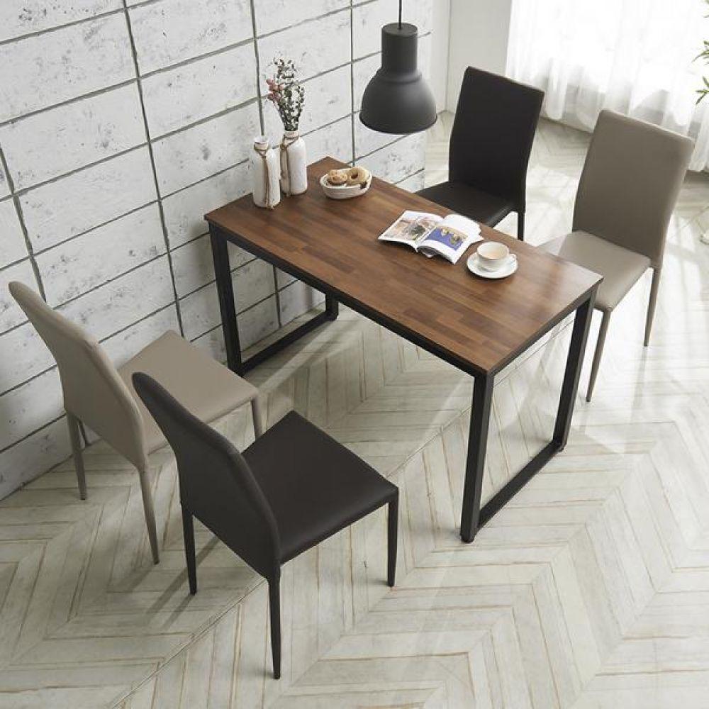 심플라인 플러스 철제 식탁 세트 1400 테이블 다용도상 거실테이블 티이블 미니테이블