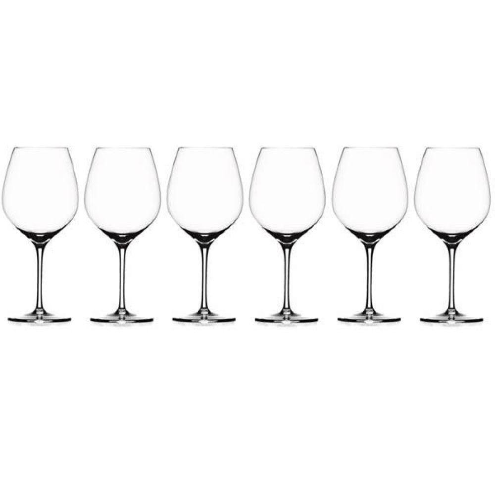 (독일산 와인 글라스)슈피겔라우 그랑팔레 버건디 6p 포도주 글라스 소믈리에 와인잔 파티