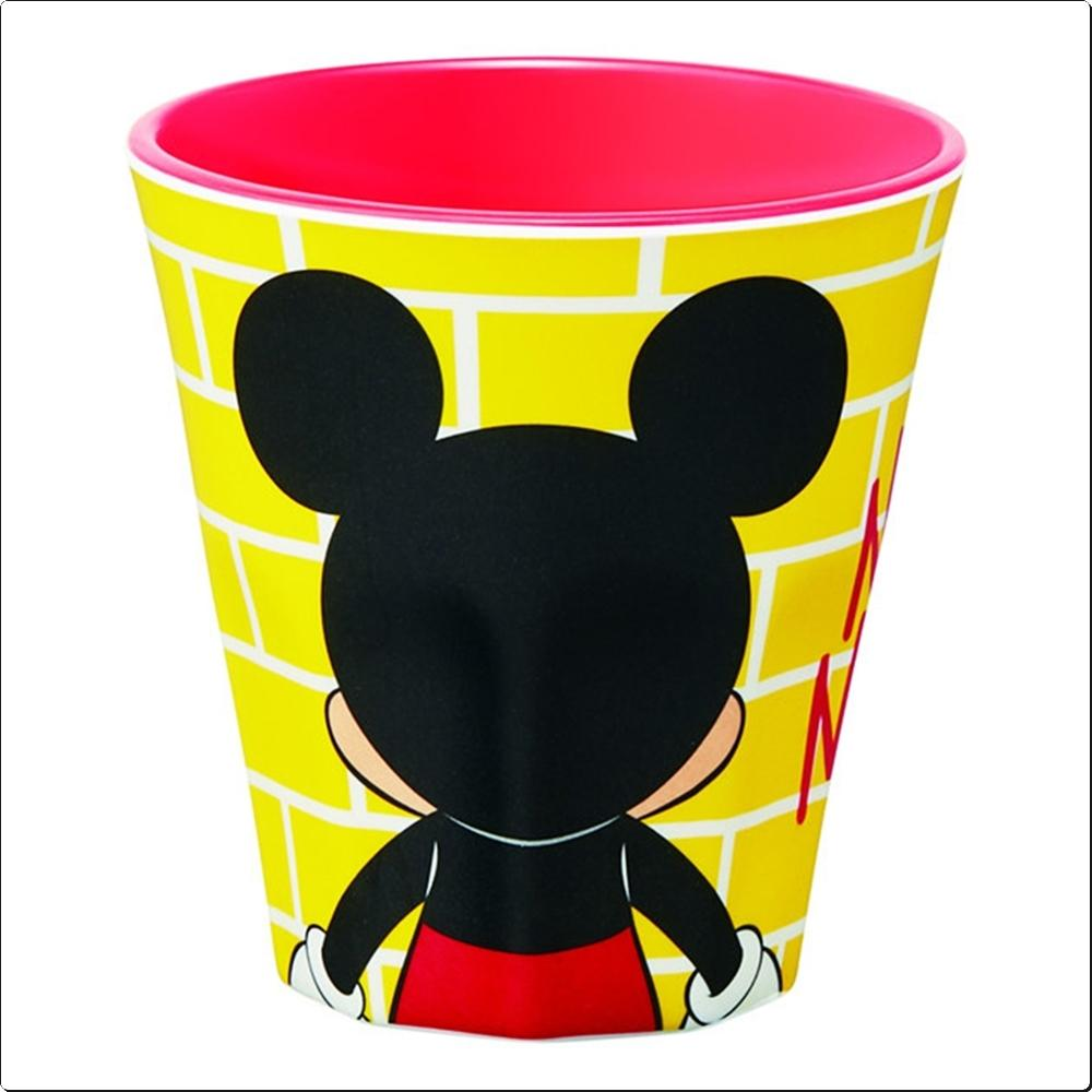 뒷모습 미키마우스 디자인 머그컵 270ml (멜라민) 캐릭터 캐릭터상품 생활잡화 잡화 유아용품