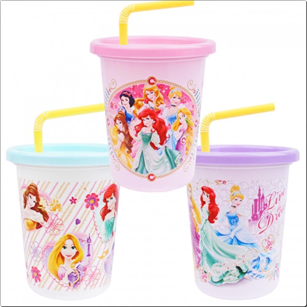 디즈니 프린세스 스트로텀블러 3P세트 320ml(447235) 캐릭터 캐릭터상품 생활잡화 잡화 유아용품