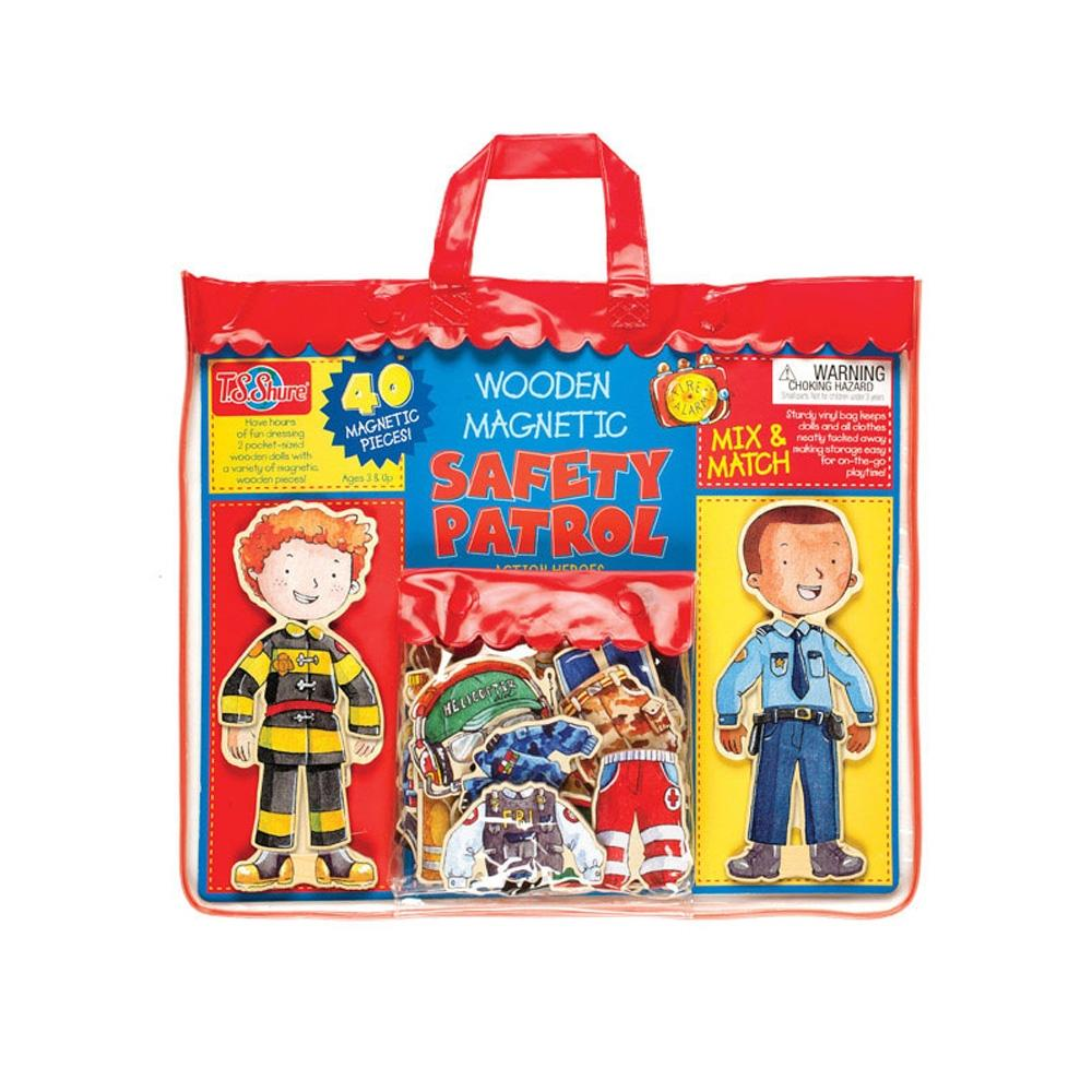 선물 3살 자석 블럭 장난감 경비대 드레스업 생일 퍼즐 블록 블럭 장난감 유아블럭