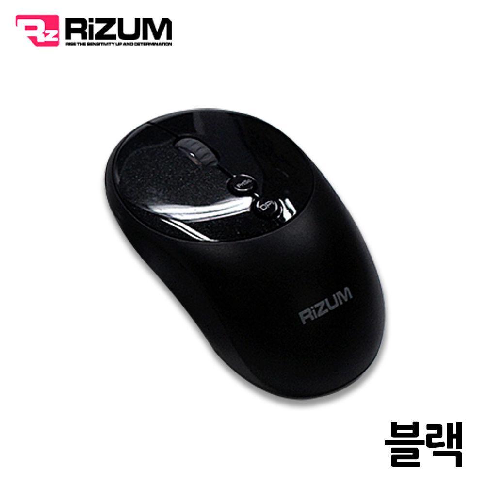 리줌 무선 무소음 블루투스 마우스 (M102) (블랙) 블루투스 마우스 무선 노트북 컴퓨터
