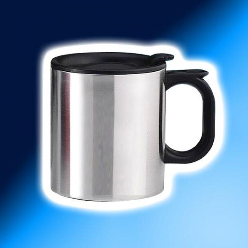 스텐레스 캠프 머그컵 370ml 머그컵 물컵 도자기컵 머그잔 커피잔