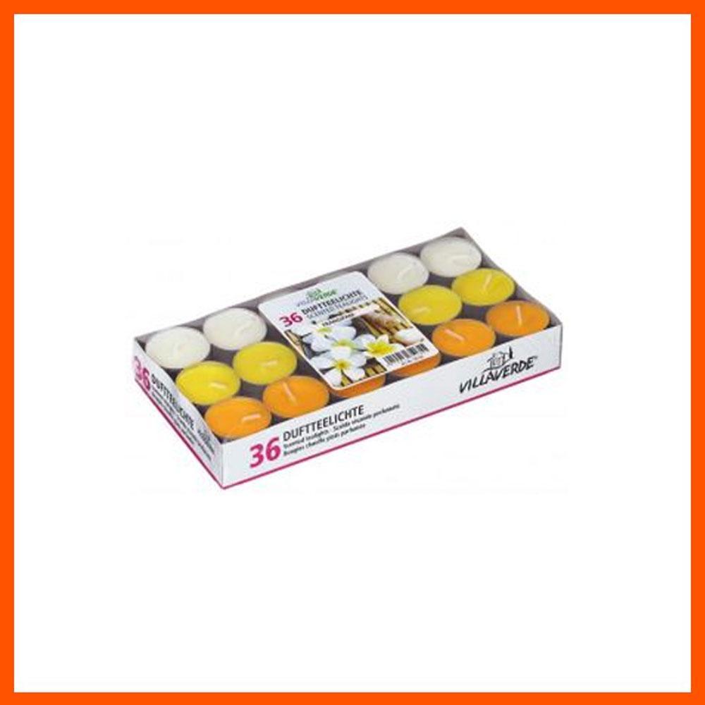 아로마 캔들 프랑기파니 틴형 (36개입) 캔들 디퓨저 아로마캔들 향초 홈데코 향수캔들 집들이선물 파티캔들 아로마향초 독일캔들