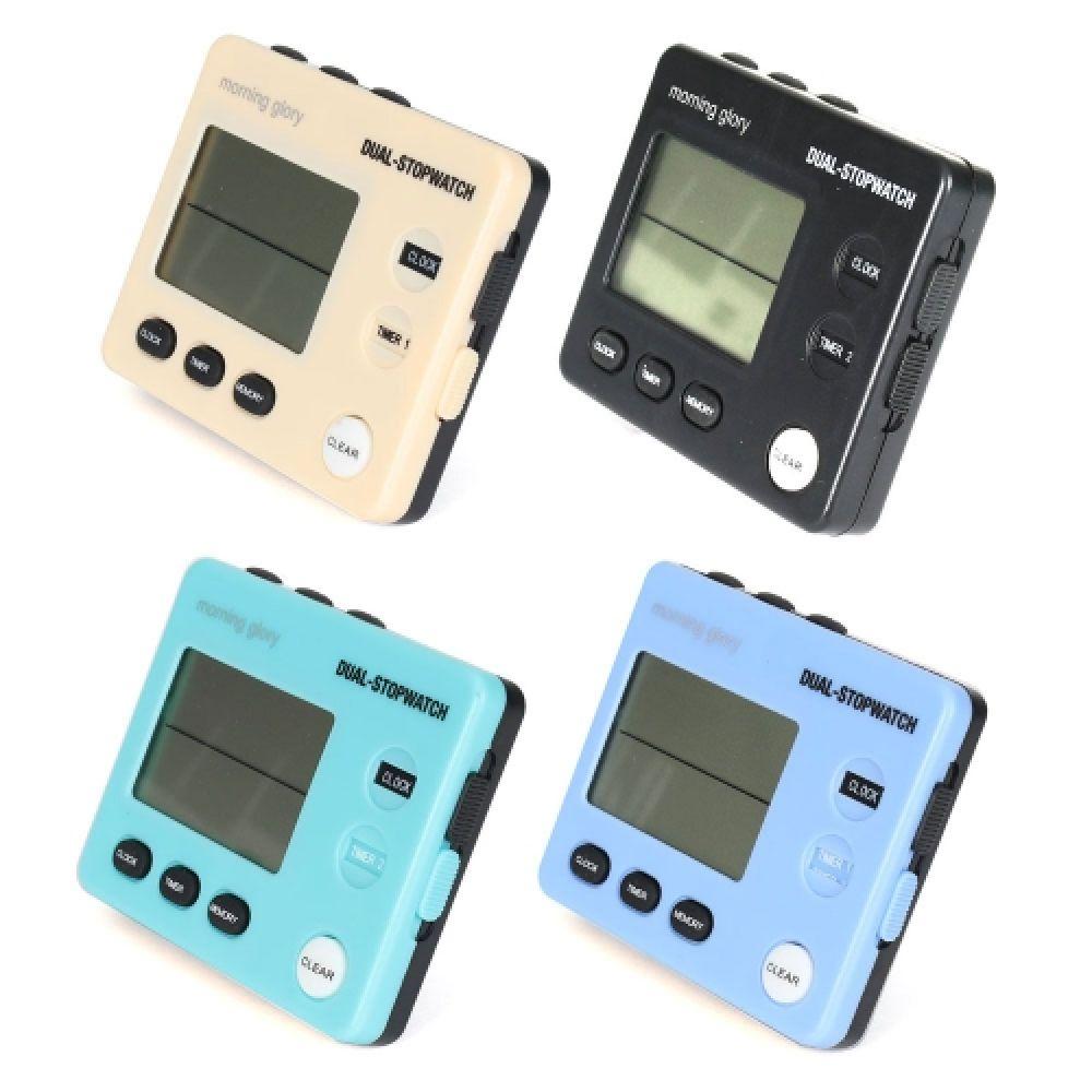 10000 듀얼스톱워치 Dual-stopwatch 스톱워치 초시계 타이머 공부시계 공부타이머