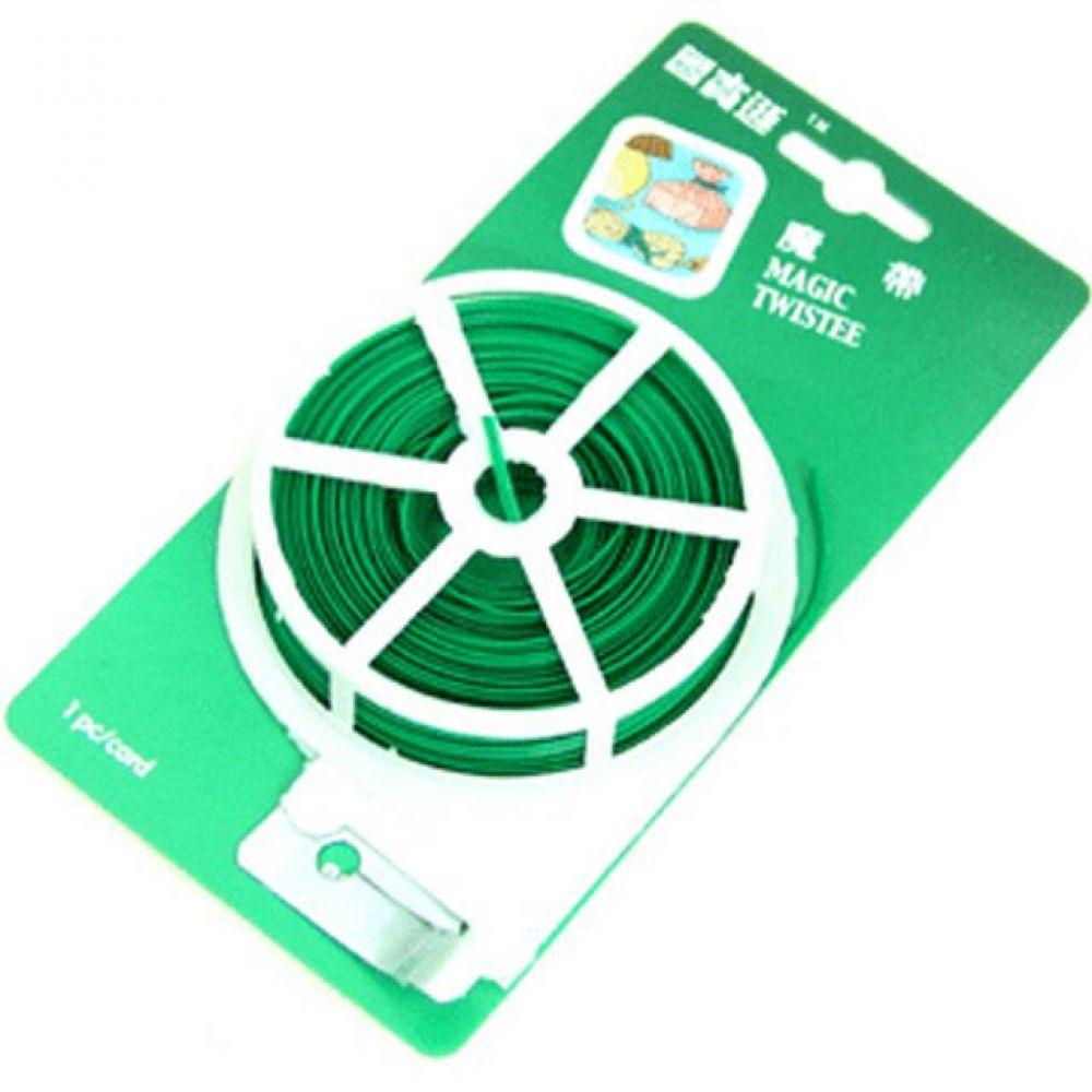 케이블 타이 30M 철선 녹색 컴퓨터용품 PC용품 컴퓨터악세사리 컴퓨터주변용품 네트워크용품 케이블홀더 케이블오거나이저 케이블정리 전선정리 벨크로타이 매직케이블 벨크로케이블타이 공구함 케이블타이고정 후크밴드