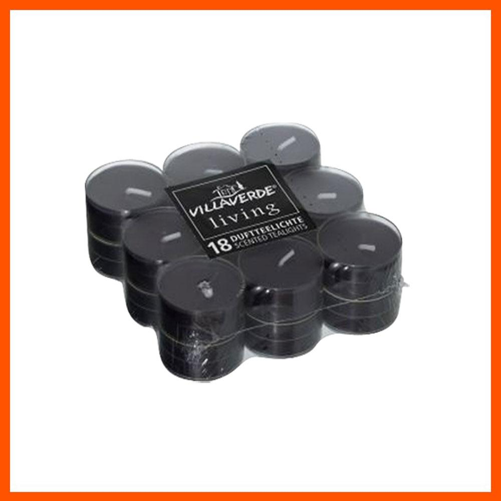 아로마 캔들 블랙 투명용기 (18개입) 캔들 디퓨저 아로마캔들 향초 홈데코 향수캔들 집들이선물 파티캔들 아로마향초 독일캔들