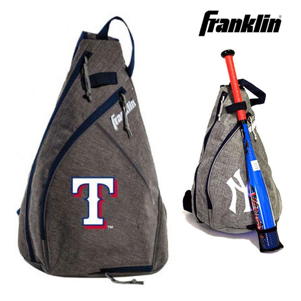 프랭클린 MLB 야구 슬링백 텍사스 레인저스 (76042F13) 야구가방 야구백팩 슬링백 스포츠백 야구슬링백