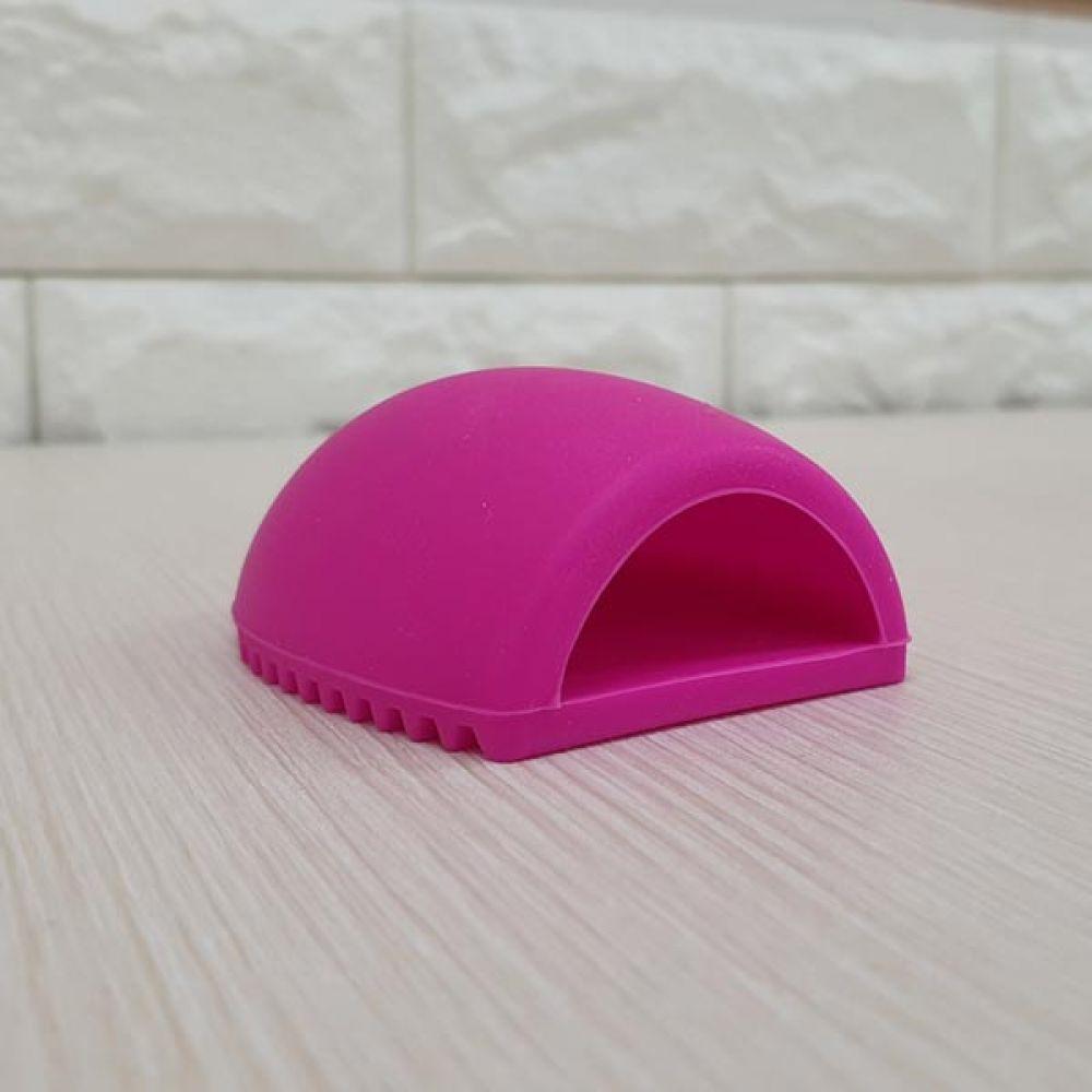 실리콘 브러쉬 세척패드 핑크 클리너 메이크업 메이크업 브러쉬건조 클리너 브러쉬세척