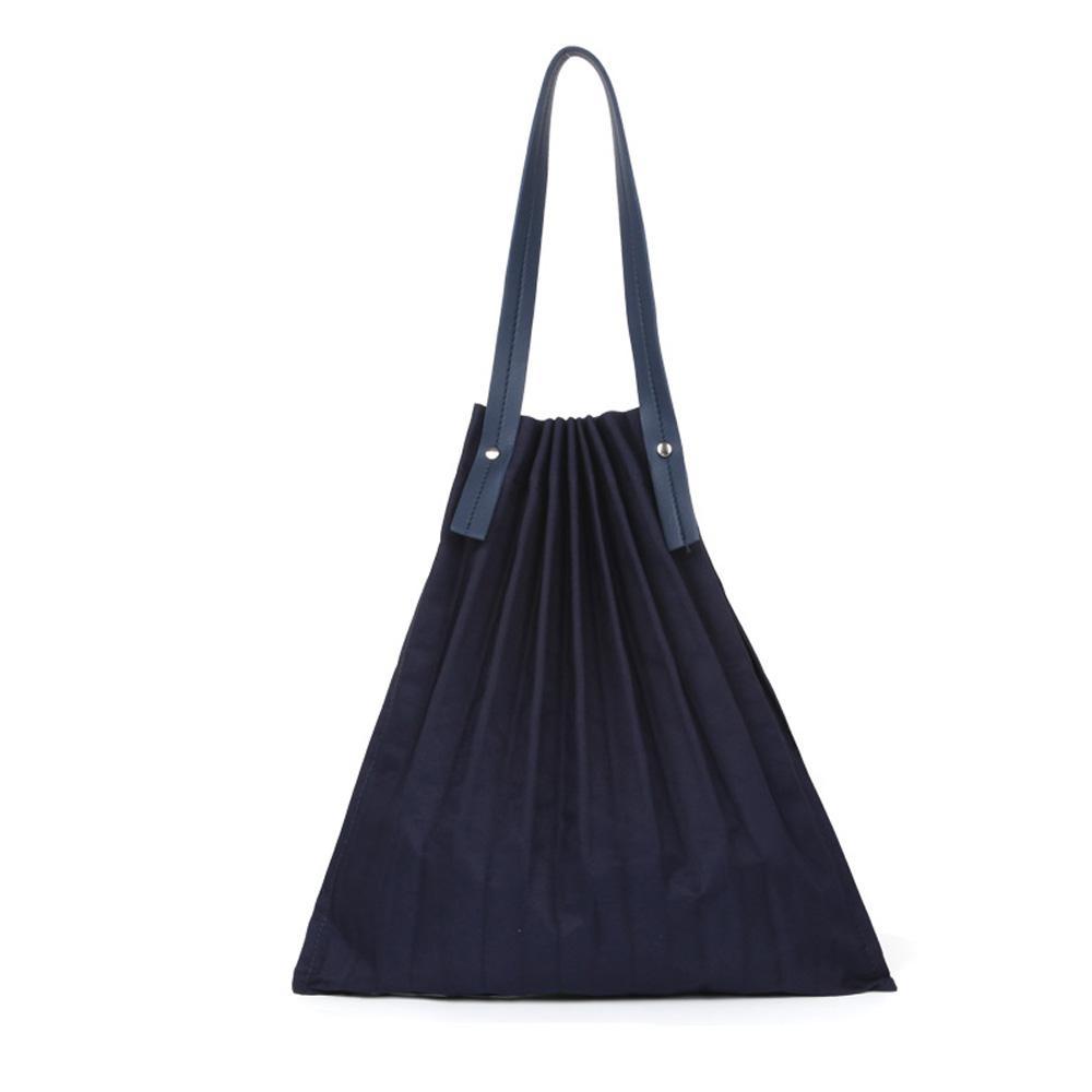 네이비 여성 특이한 컬러 숄더백 에코백 여성백 가방 숄더백 캔버스숄더백 여성숄더백 여자숄더백 이지백
