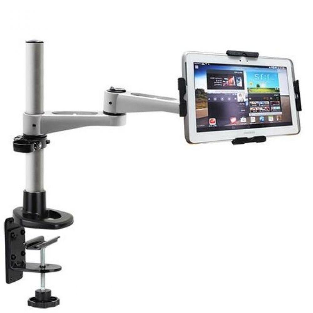 N364 LED 탁상 브라켓 태블릿 거치대세트(9-13형) 태블릿거치대 실용적 견고한스틸본체 가성비좋은 감각적인디자인 스탠드거치대 튼튼한거치대 높이조절 상하좌우 각도조절