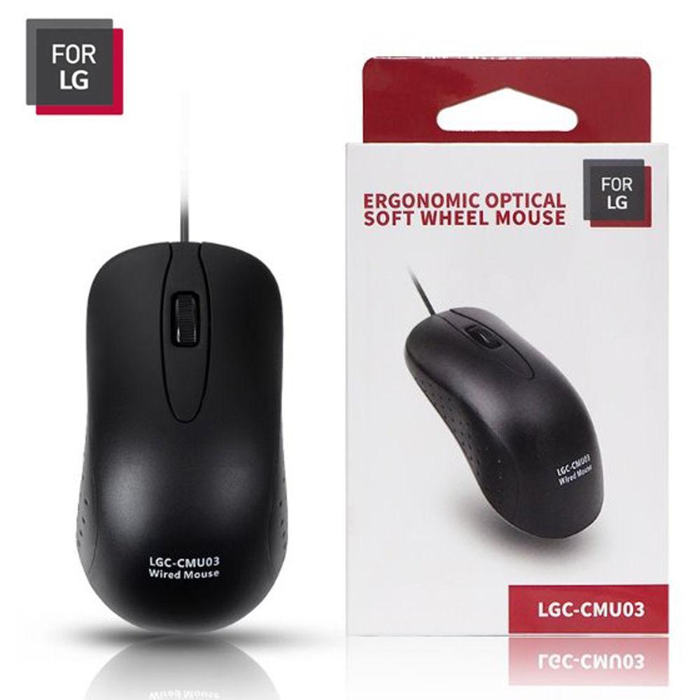 FOR LG 유선마우스 (LGC-CMU03) 유선 마우스 컴퓨터 PC 노트북