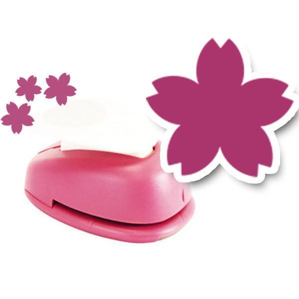 모양펀치 R-36(펀칭규격36mm이내) 394 벚꽃 모양펀치 미니펀칭기 펀치 모양만들기 공예