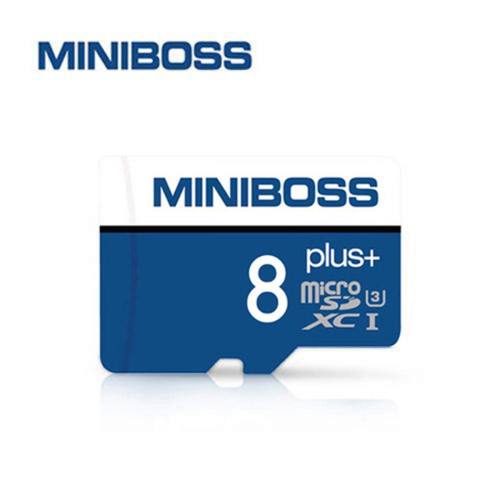 미니보스 메모리SD카드 Class10 8기가 SD카드 SD 미니보스 메모리카드 8기가