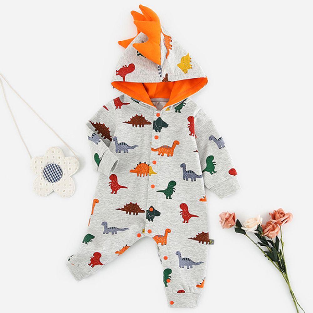 다이노 후드 우주복(3-24개월) 203959 신생아우주복 아기우주복 유아우주복 신생아후드우주복 아기후드우주복 유아후드우주복 후드우주복 공룡우주복 우주복 귀여운우주복