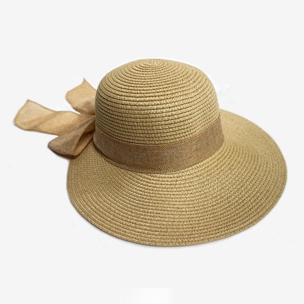 HAT 파나마 리본햇 썬캡 와이드 챙모자 리본모자 여행 파나마햇 리본햇 햇 모자 바캉스모자 여행