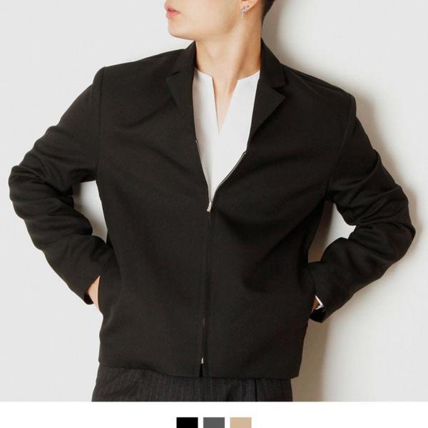 베이직 집업 숏자켓 남자자켓 숏자켓 남성자켓 남자블레이져 남자아우터 가을자켓 가을코디 킹스맨