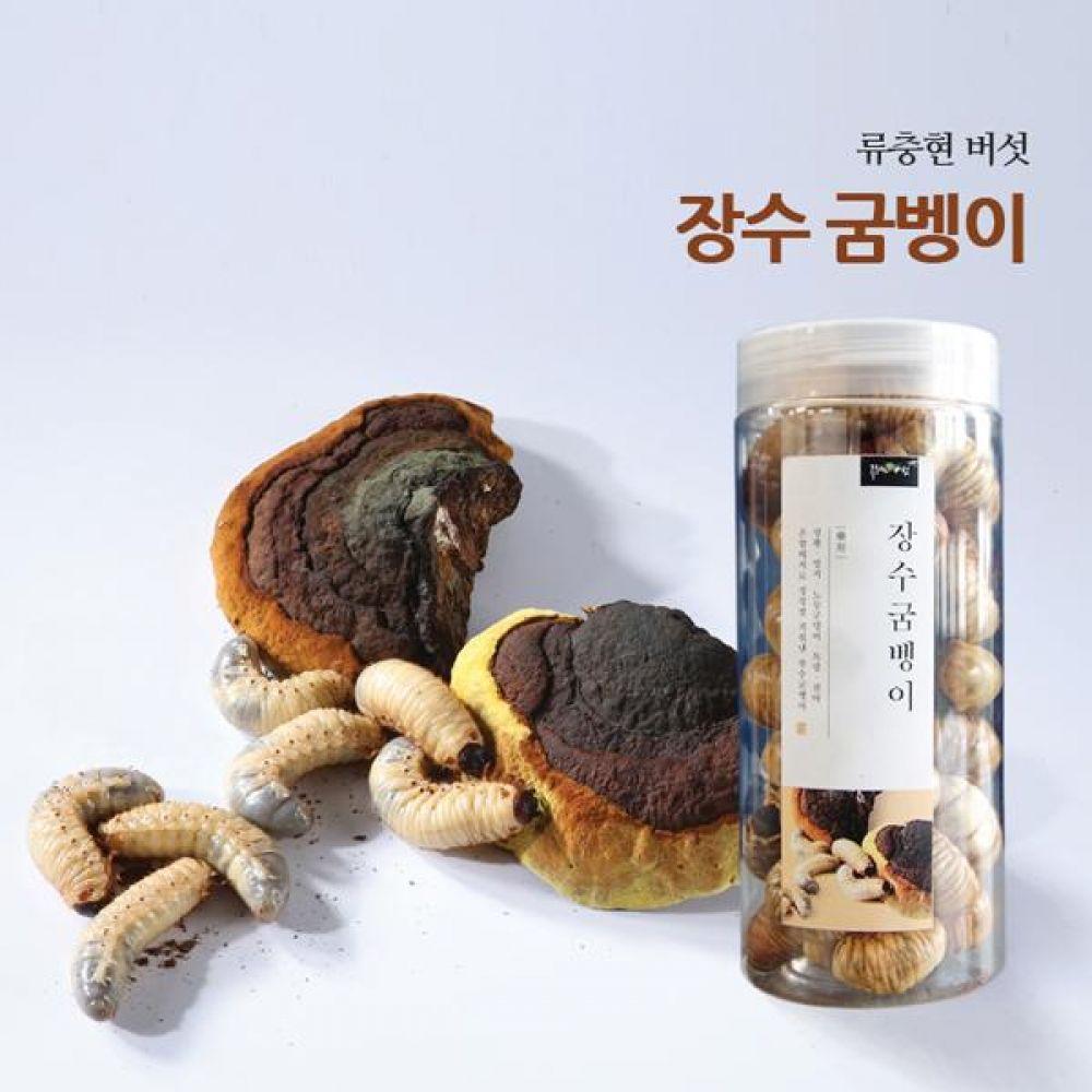 류충현 장수굼벵이(150g) 건강 식품 버섯 선물 굼벵이