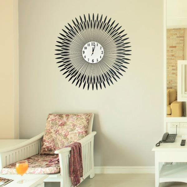 JHC컴퍼니 썬월드 크리스탈 벽시계(75cm) 벽시계 탁상시계 시계 클래식시계 엔틱벽시계