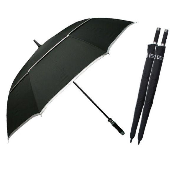 80장우산-이중방풍 1단우산 장우산 패션우산 자동우산 판촉우산