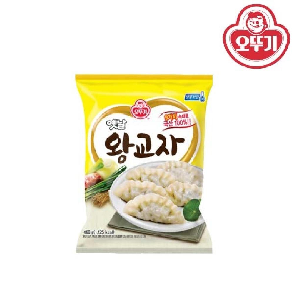 오뚜기 옛날 왕교자 324g 딤섬 고기만두 감자만두 맛있는만두 군만두