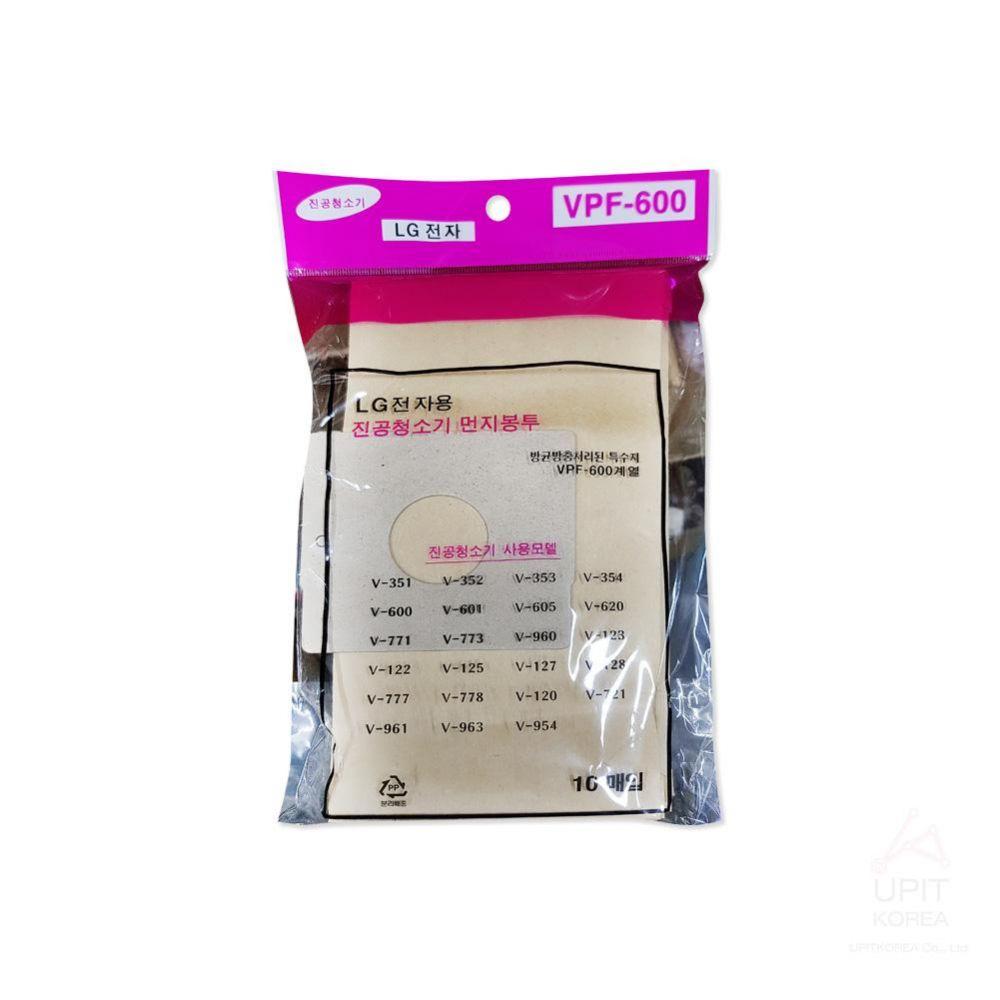 LG전자 진공청소기먼지봉투 VPF-600 10매입_8114 생활용품 가정잡화 집안용품 생활잡화 잡화
