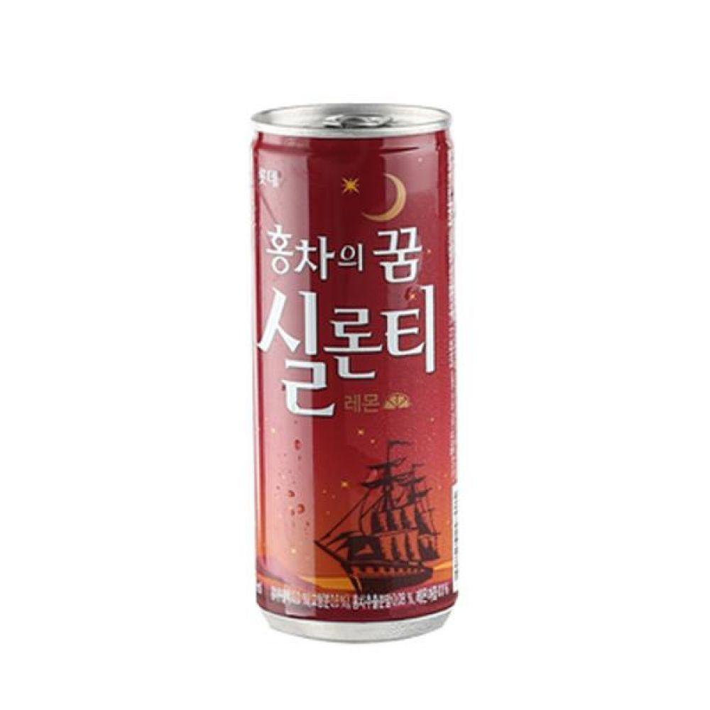 칠성) 실론티 240ml x 30캔 믿을 수 있는 정품 정량 음료 음료수 음료수도매 실론티 아이스티