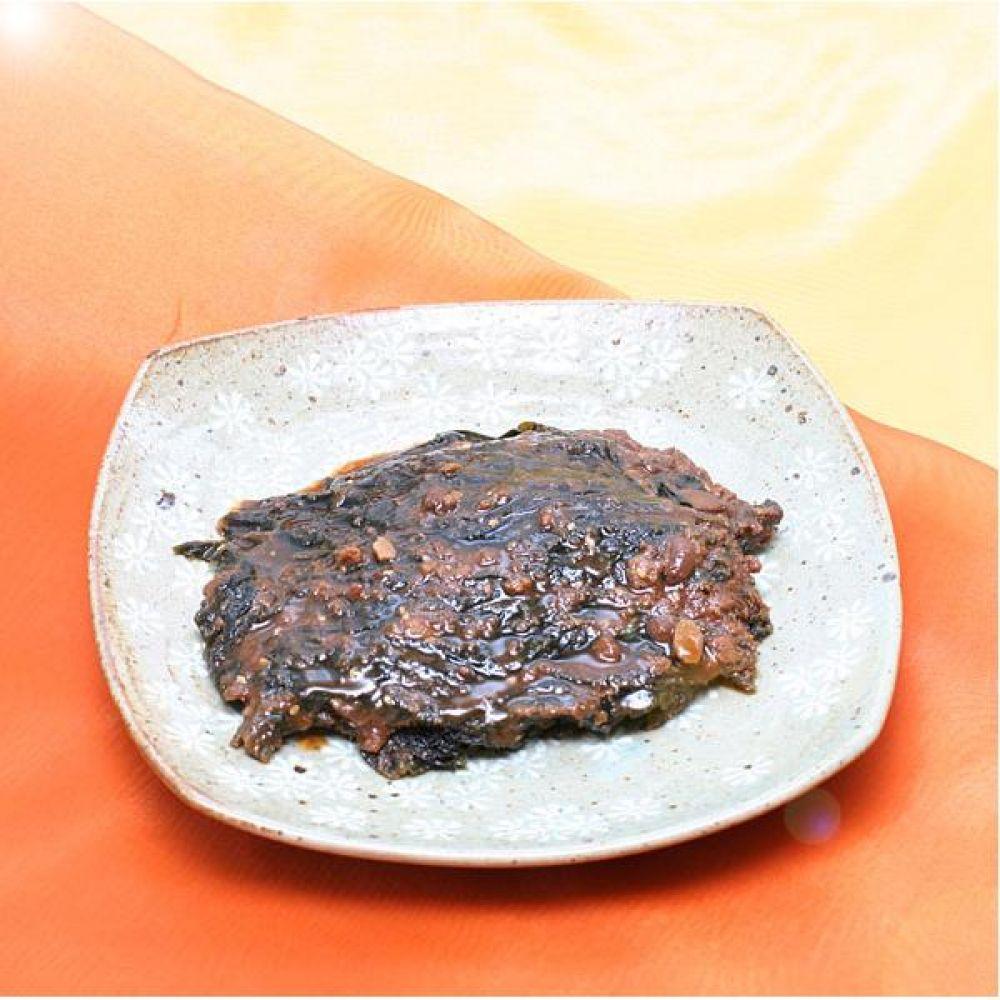된장깻잎장아찌 500g 아이스팩포장 재래식 된장에 숙성된 깻잎장아찌 식품 신선식품 반찬 장아찌 깻잎장아찌