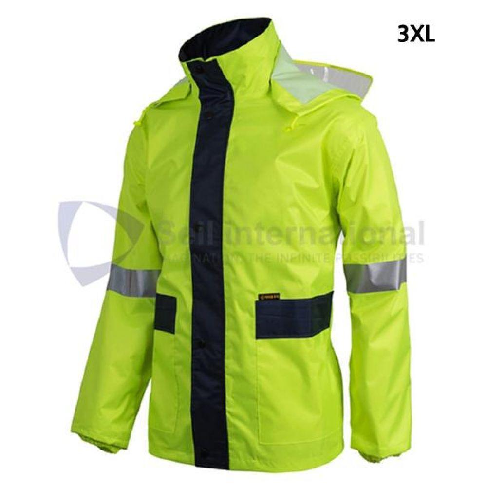 제비표 우의 Si-170JK 산업용 3XL 우비 개인보호구 보호복 우의 비옷 분리식우의 남성레이코트 남성비옷