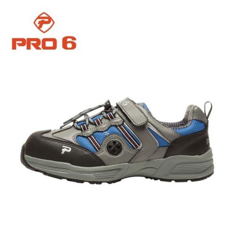 PRO6 PRO6-201N (4in) 초경량 안전화 경작업용 작업화 안전화 PRO6 프로식스 단화 초경량안전화 작업화 현장화 작업현장화