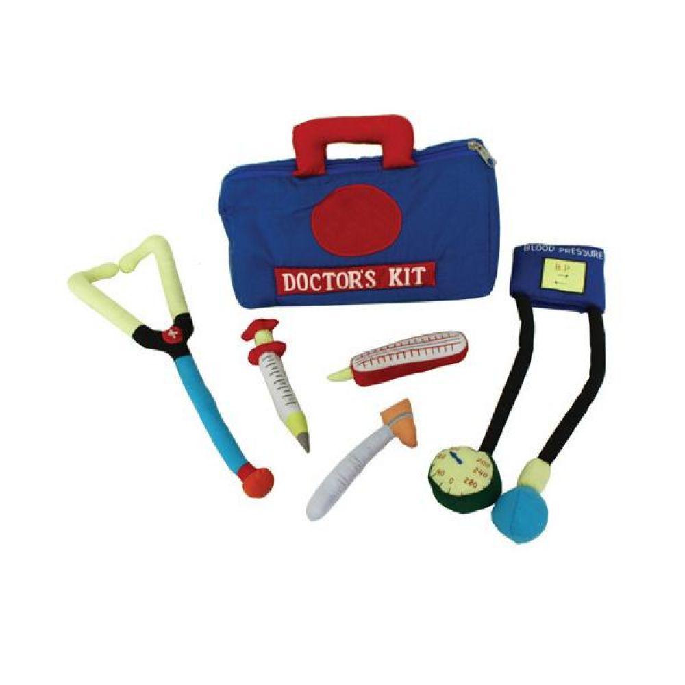 역할놀이 의사놀이와 파랑가방 완구 문구 장난감 어린이 캐릭터 학습 교구 교보재 인형 선물