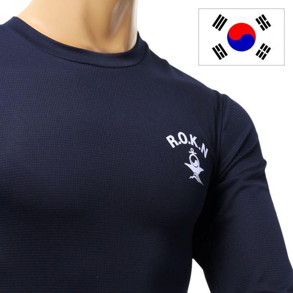 긴팔 해군 티셔츠 해군티셔츠 라운드티셔츠 긴팔티셔츠 해군라운드티셔츠 해군래쉬가드 기능성래쉬가드