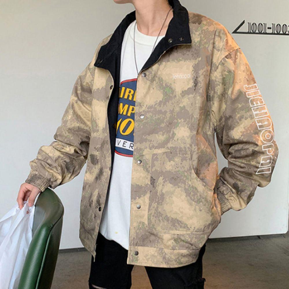 양면 트러커 자켓 캐주얼자켓 DS-AL652 캐주얼자켓 바람막이 트러커자켓 항공점퍼 봄자켓