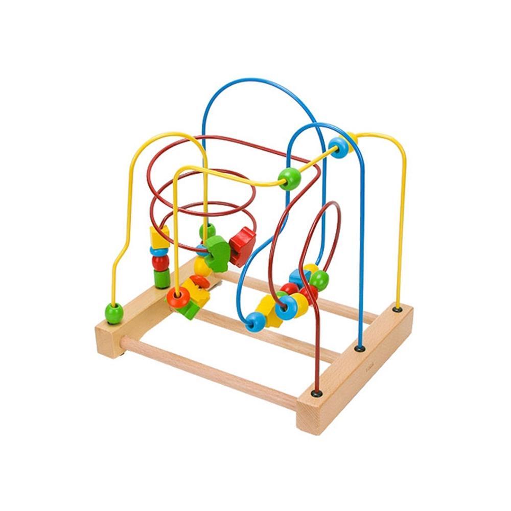 선물 3세 유아 어린이 놀이 롤러코스터 아이 장난감 퍼즐 블록 블럭 장난감 유아블럭