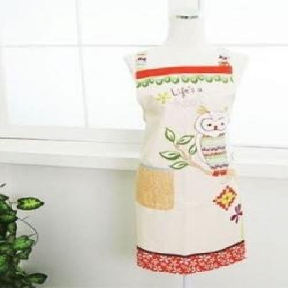 부엉이 앞치마 주방용품 주방소품 주방패브릭 앞치마소품 예쁜앞치마