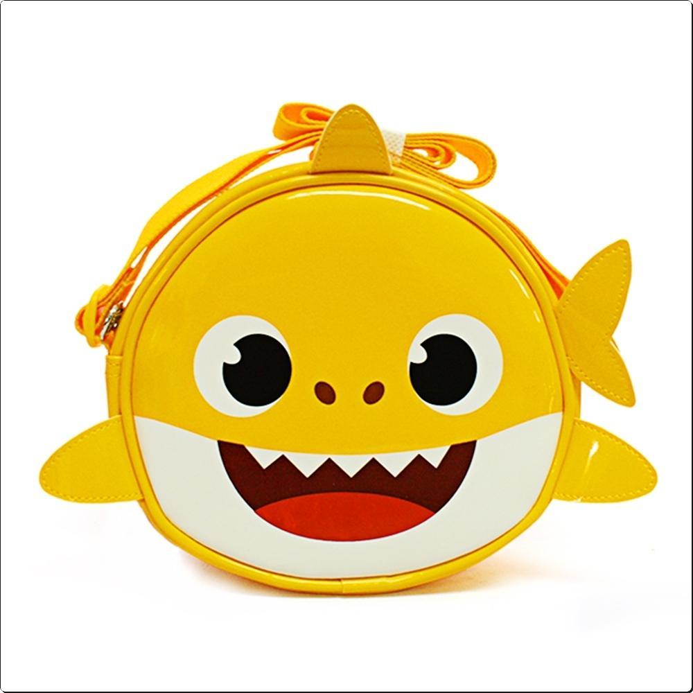 아기상어 원형 비치크로스백 (아동수영가방)(871804) 캐릭터 캐릭터상품 생활잡화 잡화 유아용품